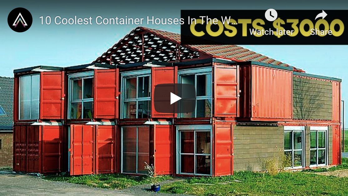 Incredible Container Homes Around the World