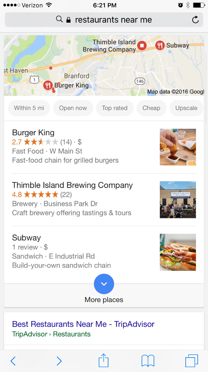 """Micro Moments, """"Near Me"""" Searches, and Local Marketing"""